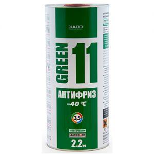 Liquide de Refroidissement Vert 11  –40°С XADO 2L