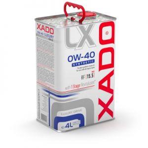 Huile Moteur Synthétique Luxury Drive 0W-40 XADO, 4L