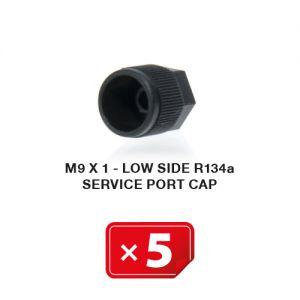 Bouchon M 9 x 1 Basse Pression R134a ( lot de 5 pcs)