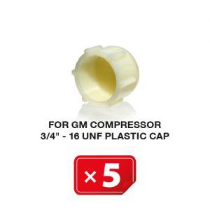 Bouchons plastiques pour Compresseur GM  3/4