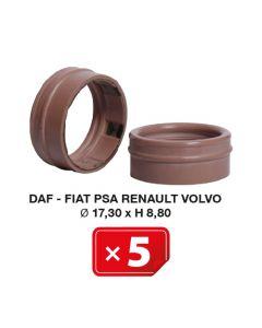Joint Spécial Daf-Fiat-PSA-Renault-Volvo Ø 17,30 x H 8,80 (lot de 5 pcs)