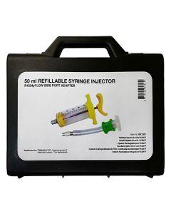 Seringue injecteur rechargeable R1234YF, 50 ml