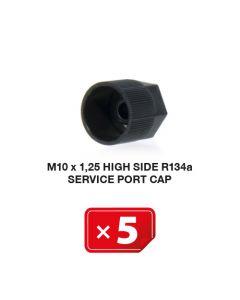 Bouchon M 10 x 1,25  Haute Pression R134a ( lot de 5 pcs)