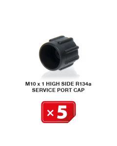 Bouchon M 10 x 1  Haute Pression R134a ( lot de 5 pcs)