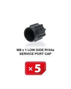 Bouchon M 8 x 1 Basse Pression R134a ( lot de 5 pcs)