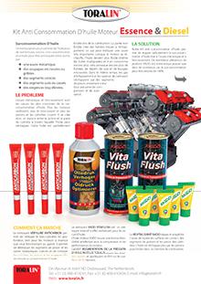 Kit Anti Consommation d'huile moteur