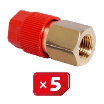 Adaptateur Retrofit  1/4 SAE haute pression – cuivre