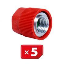 Adaptateur Retrofit  sans mécanisme 1/4 SAE haute pression - aluminium