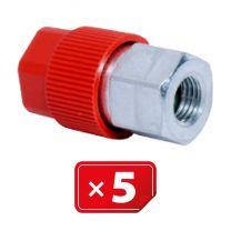 Adaptateur Retrofit  3/16 SAE haute pression - aluminium