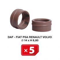 Joint Spécial Daf-Fiat-PSA-Renault-Volvo Ø 14 x H 8,80 (lot de 5 pcs)