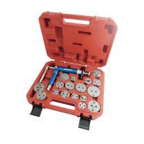 Kit Outil à Air Comprimé pour le Repositionnement des Étriers de Frein (avec deux adaptateurs K1 et K2 supplémentaires)